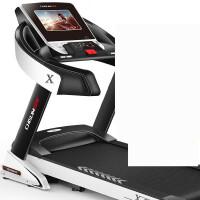 跑步机家用款多功能电动超静音折叠健身器材智能跑步机 3_豪华单功能 15档电动坡度-48CM跑带