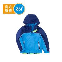 361度童装男童外套梭织连帽薄外套2018年秋季儿童外套K51812604