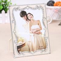 创意时尚摆台相框欧式影楼婚纱结婚新婚新年礼物照片6/7/8/10寸 1挂墙