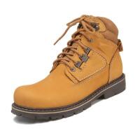 探路者(TOREAD) 探路者TOREAD男士秋冬户外旅行鞋高帮保暖旅行休闲鞋 褐色 43