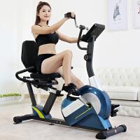 健身车家用磁控超静音老人健身器材动感单车康复训练脚踏车 2_735S 手脚并用