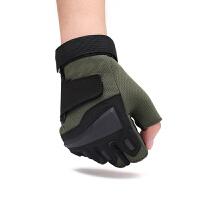 户外运动半指手套青年防护骑行手套透气防滑战术健身手套手掌护垫
