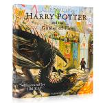 英文原版 哈利波特与火焰杯 4精装全彩插图版 Harry Potter and the Goblet of Fire: