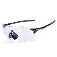 骑行眼镜变色偏光男女户外运动跑步防风山地自行车装备
