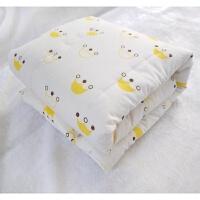 纯棉儿童棉花被小孩幼儿园午睡小被子夏凉被宝宝春秋冬被婴儿薄被 4.5斤长绒棉花 冬季加厚
