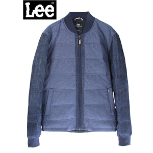 Lee男装 商场同款鸭绒休闲男士时尚羽绒服潮L295652HJ6RP