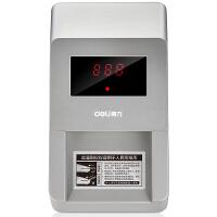 得力(deli) 便携式小型语音验钞机 精准点钞验钞仪 干电池+外接电源 2116