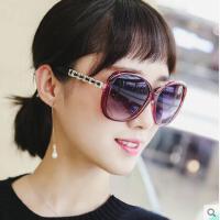 新品墨镜潮明星款眼睛圆脸户外韩版优雅眼镜网红同款新款圆形个性太阳镜女士