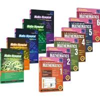 【首页抢券300-100】新加坡数学学习系列+奥数系列全套11册套装 SAP Learning & Olympiad M