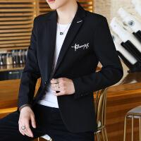 西装男士休闲韩版修身单上衣青年帅气小西装春季学生薄款外套潮流