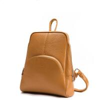 双肩包女士新款包包女包书包背包学生j D98211-2黄色