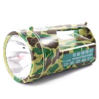 充电手电筒户外防水露营钓鱼夜钓迷彩照明探照灯