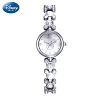 迪士尼时尚潮流手链表女手表米奇钢带女表女士手表休闲石英手表