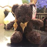 泰迪熊抱抱熊熊猫小熊公仔布娃娃毛绒玩具小号送女友生日礼物女生抖音