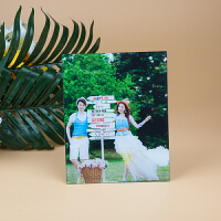 水晶相框摆台创意挂墙组合玻璃24婚纱照洗照片冲印加相框定制36寸