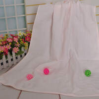 纯棉纱布浴巾双层夏季薄款新生婴儿童宝宝沙滩游泳速干