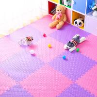 泡沫地垫卧室家用铺地板垫子榻榻米拼接儿童爬行垫爬爬垫拼图地垫 60x60x1.2cm(45片)树叶纹 送90根边