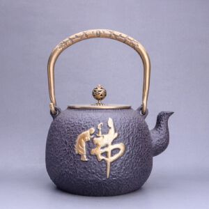 佛字--铁壶