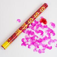结婚庆用品创意浪漫礼花彩带庆典派对礼炮喜字花瓣礼宾花礼花筒
