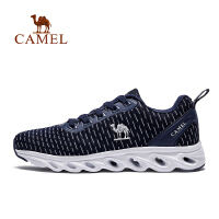camel骆驼运动跑鞋男春透气轻便跑步减震防滑运动鞋