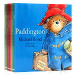 Paddington Collection 英文原版绘本帕丁顿熊图画故事书系列 10册 英伦漂的生活趣事 Harper
