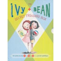 Ivy and Bean's Treasure Box(1-3) 艾薇和豆豆套装1(第1-3册+神秘手册) ISBN9