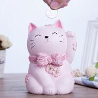 招财猫摆件存钱罐可爱创意储蓄罐时尚生日礼物卡通儿童零钱罐
