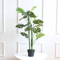 美式田园家居室内装饰品花卉绿植盆栽仿真植物盆景客厅落地大摆件