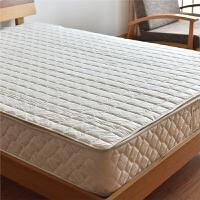 良品防螨抗菌全棉床垫子榻榻米1.8m床1.5米双人宿舍单人床褥垫被 白色