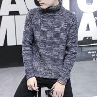 冬季外套男士韩版高领毛衣男冬装加厚学生宽松针织衫个性线衣潮流