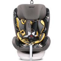 安全汽车座椅360度自由旋转用简易便携可躺isofix车载硬接口