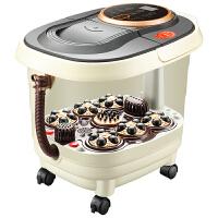 足浴盆全自动按摩家用养生足疗机加热泡脚桶电动洗脚盆足浴器