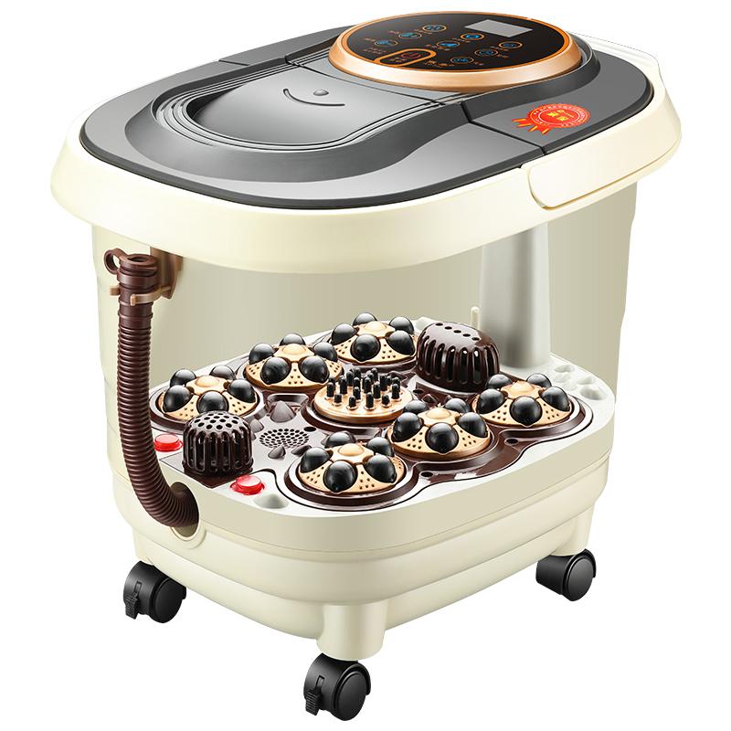 足浴盆全自动按摩家用养生足疗机加热泡脚桶电动洗脚盆足浴器 发货周期:一般在付款后2-90天左右发货,具体发货时间请以与客服协商的时间为准