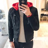 外套男冬季衣服韩版潮流短款棉衣男修身学生冬装棉服冬天男士棉袄