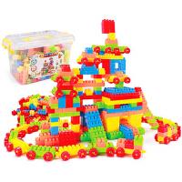 儿童颗粒塑料拼插积木宝宝益智拼装小孩玩具