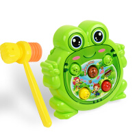 儿童敲击游戏机电动充电宝宝女男孩礼物 打地鼠玩具幼儿 益智