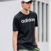 adidas阿迪达斯NEO2018新款男LOGO款运动休闲短袖T恤CV9320
