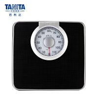 百利达(TANITA) 体重秤 机械秤 家用防滑称重健康秤 人体秤(非电子称)日本品牌 HA-620 黑色