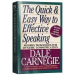 语言的突破 英文原版 卡耐基演讲指南 The Quick and Easy Way to Effective Spea