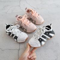 女童运动鞋儿童休闲鞋男童跑步鞋女童老爹鞋