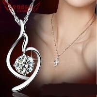 项链女日韩国925银同款式吊坠时尚短款锁骨配饰生日情人节礼物