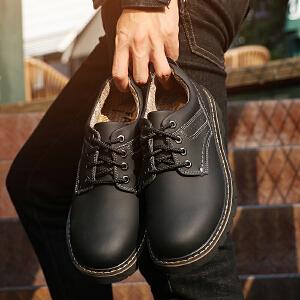 阿迪达斯支撑/adiasZC工装鞋男英伦厚底耐磨大头鞋复古百搭潮鞋子户外鞋秋新款
