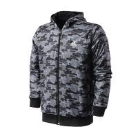 adidas阿迪达斯男子外套夹克2018两面穿休闲运动服BQ5616