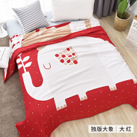 纯棉纱布毛巾被北欧单双人床单毛毯被子沙发毯午休盖毯夏季