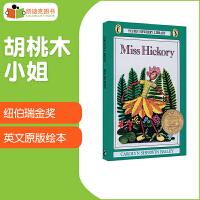 凯迪克 美国进口 1947年纽伯瑞金奖 Miss Hickory 胡桃木小姐【平装】