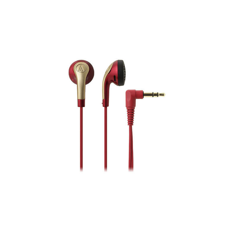 铁三角 ATH-C999 C999  平头耳塞式耳机低音入耳高解析 人声甜美 低频有量 带线夹收纳袋