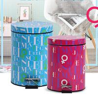 【满减】欧润哲 创意静音垃圾桶脚踏式 厨房客厅家用垃圾筒时尚家居创意个性收纳桶