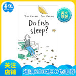 英文原版 Do Fish Sleep? 鱼会睡觉吗?关于生命情感教育绘本 德国畅销书 获奖童书