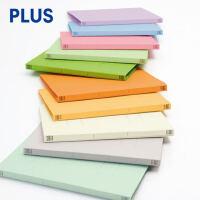 PLUS普乐士021N纸质文件夹A4打孔资料夹双孔纸板文件夹