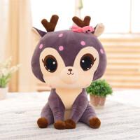 毛绒玩具小布偶娃娃儿童生日节礼物可爱长颈鹿公仔宝宝